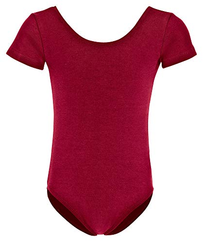 Rote Trikot Kostüm - tanzmuster Kinder Ballettanzug Sally mit kurzen