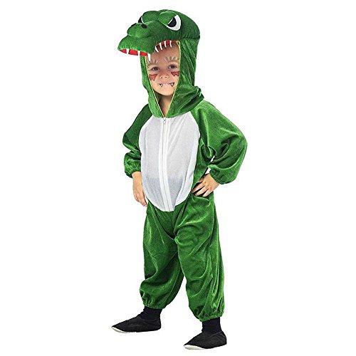 Mottoland Kinder Kostüm Krokodil Alligator zu Karneval ()