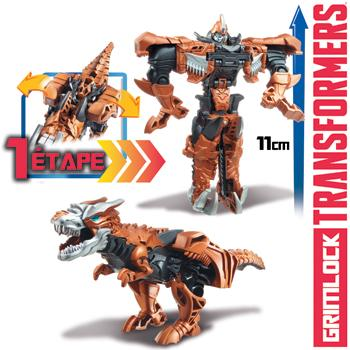 Transformers Grimlock Figurine Electronique Hasbro : King Jouet, Héros &