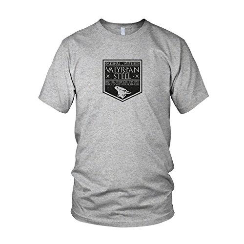 GoT: Valyrian Steel - Herren T-Shirt Grau Meliert