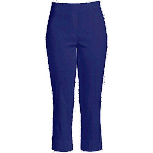 Robell Marie Capri Slim fit Hose verschiedene Farben 55cm Ich will Marie blau 68