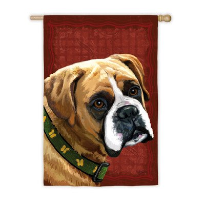 Boxer Silk Reflections House Flag