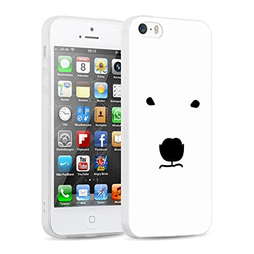 coque iphone 5 liquide ours polaire