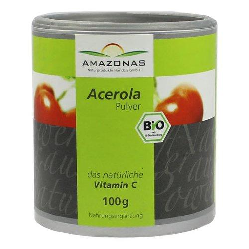 Acerola Pulver, 100 g Pulver