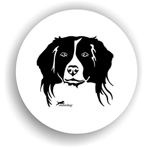 Hunde Kooikerhondje Sticker Auto Aufkleber Art.STK0237 Autoaufkleber Aufkleber Wohnmobil Wohnwagen amberdog (Hunde Kooikerhondje)