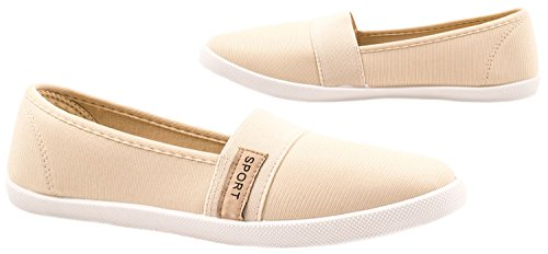 Elara - Pantofole Donna Beige