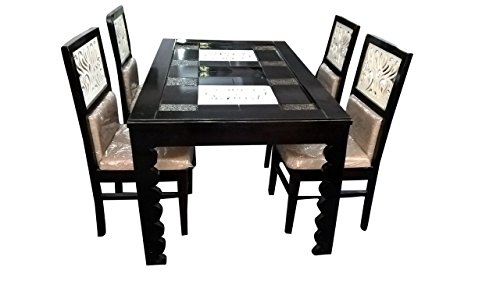 HI-Tech New Chineese Model Dining Table Set With Four Chairs