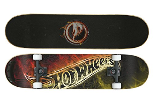 Hot Wheels Kinder Skateboard Fireboard II im Test