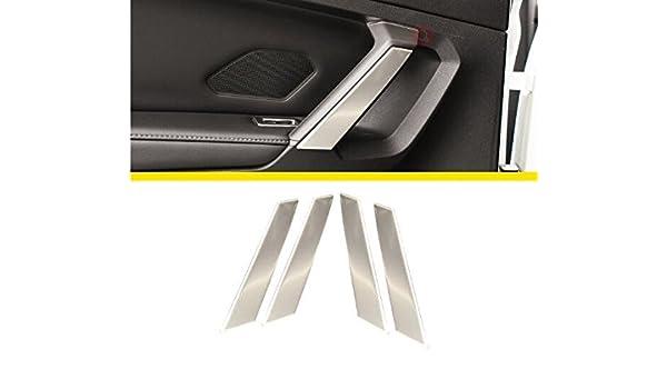 Emblema Trading Maniglia Console Centrale Di Apertura cruscotto pannello della cornice in acciaio inox Auto Accessori