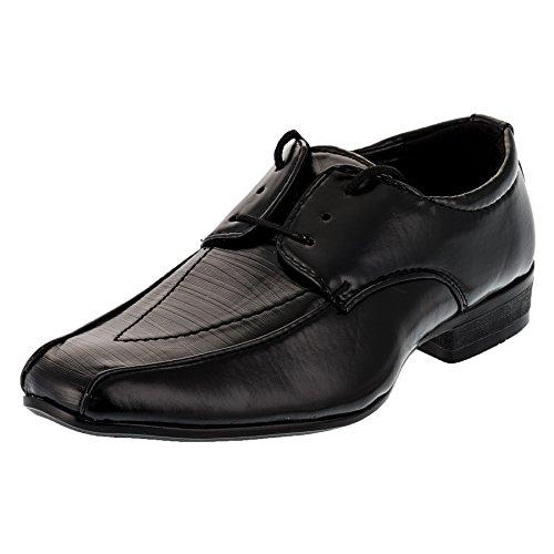 Festlicher Jungen Anzugschuh als Schnürer oder Slipper #151sw Schnürer