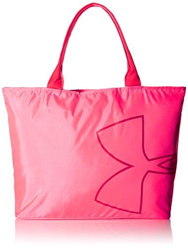 Under Armour UA Big Logo Tote, Bolso Mochila para Mujer, Rosa, 12.5x35x50 cm
