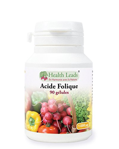Acide folique x 90 gélules