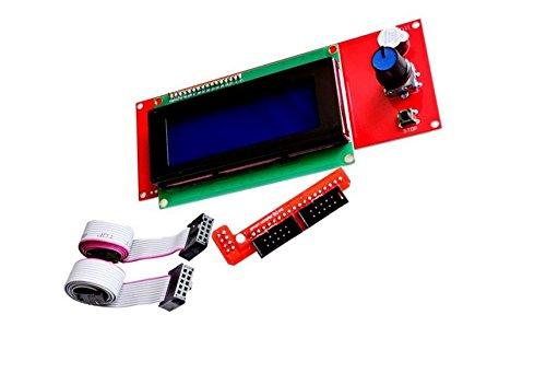 Zkee Shop 2004 LCD Intelligent Anzeigen Bildschirm Regler Modul für 3D Drucker Controller RAMPS 1.4 Arduino Mega Arduino RepRap (Reprap-controller)