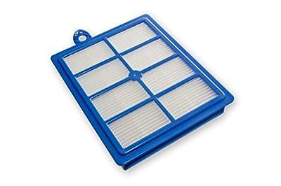 vhbw Ersatz Hepa Allergie Filter für Staubsauger AEG Philips: Autoclean, SilentStar, Specialist, Studio, TwinClean wie AEF13W, AEF 13 W, H13.