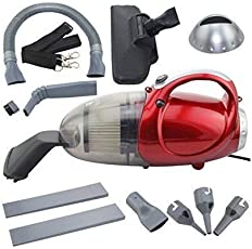 Pine Plastic 220-240V 50 HZ 1000W Blowing and Sucking Dual Purpose Vacuum Cleaner (Red)
