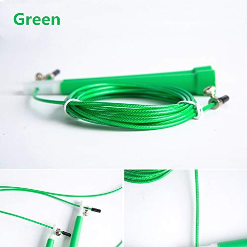 Queta PVC Speed Wire Rope Springseil Spezial Test Springseil Fitness grün grün