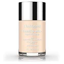 10 / Classic Ivory : Neutrogena Healthy Skin Liquid Makeup Foundation, Broad Spectrum Spf 20, 10 Classic Ivory, 1 Oz