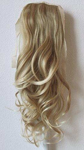 PRETTYSHOP Haarteil hairpiece Zopf Pferdeschwanz Haarverlängerung 60cm gewellt diverse Farben (Zöpfe Pferdeschwanz)