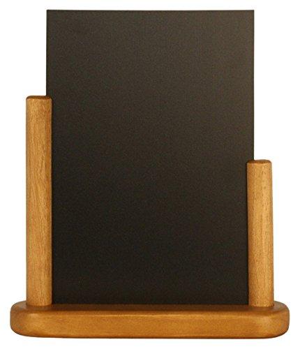 Genware nev-ele-te-me Tisch Board, Teak, mittelgroß, 15cm x 21cm