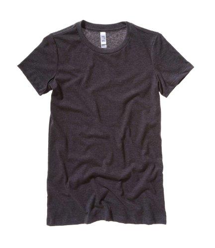 Bella CanvasDamen T-Shirt Grau - Dark Grey Heather