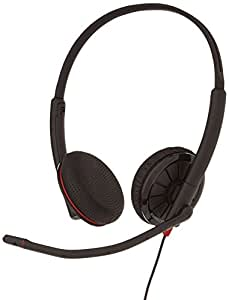 Plantronics Blackwire C325 Stereo 3.5mm & USB corded Headset for PC, Tablet, & Mobile Phone - Optimised for Skype & Microsoft Lync