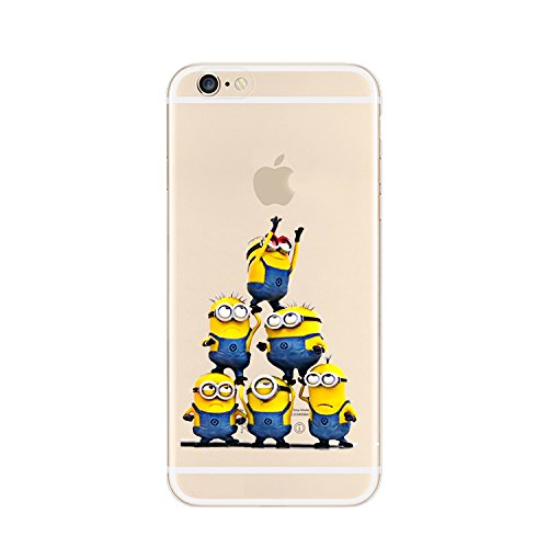 Ronney 's Diener TPU Soft Case Apple iPhone 7 & 7 Plus, plastik, 3 MINONS 2, APPLE IPHONE 7PLUS 6 MINIONS