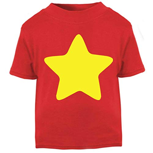 Steven Universe Yellow Star Baby and Toddler Short Sleeve T-Shirt