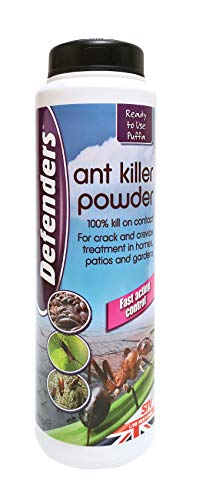 Defenders Ant and Insect Killer Powder (Treatment to Control Bugs Like Ants, Cockroaches, Earwigs and Woodlice in Homes, Patios and Gardens, Treats up to 25 sq m), 450 g
