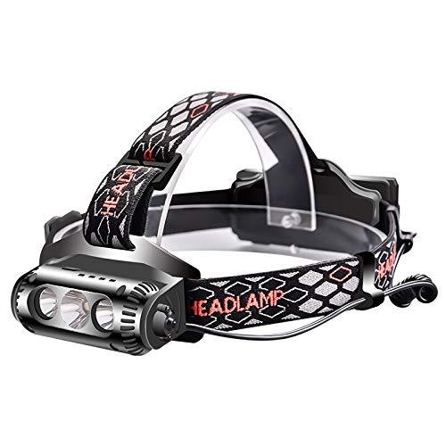 zhenxin LED Stirnlampe Kopflampe COB Scheinwerfer Wasserdicht Scheinwerfer Weiß Grün Rot LED Licht 18650 Batterie Bike Fahrrad Radfahren Warnung Scheinwerfer
