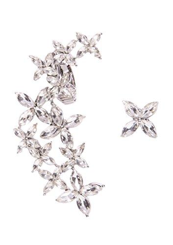 happiness-boutique-orecchini-pendenti-design-floreale-argento-ear-cuff-asimmetrici-con-brillantino-t