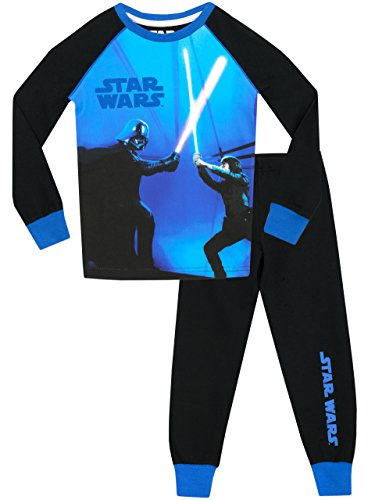 Star Wars Boys Star Wars Glow in the Dark Pyjamas - Snuggle Fit - Ages 3 to 13 Years
