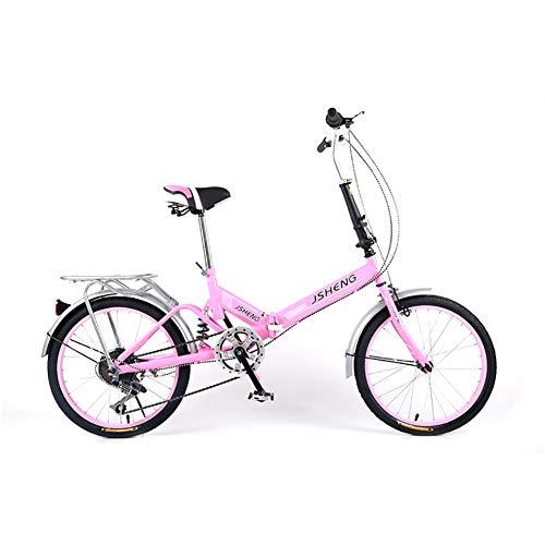 XINGXINGNS Klappräder Erwachsene 20 Zoll Männer Und Frauen Fahrrad Teenager Studenten Ordinary Fahrrad High Carbon Stahlrahmen Bequeme Fahrrad