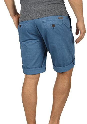 SOLID Viseu Herren Chino-Shorts kurze Hose Business-Shorts aus 100% Baumwolle Federal Blue (1414)