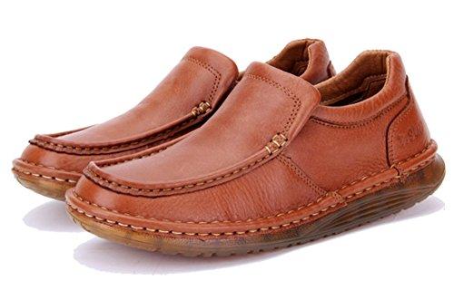 TDA ,  Herren Sneaker Low-Tops Rotbraun
