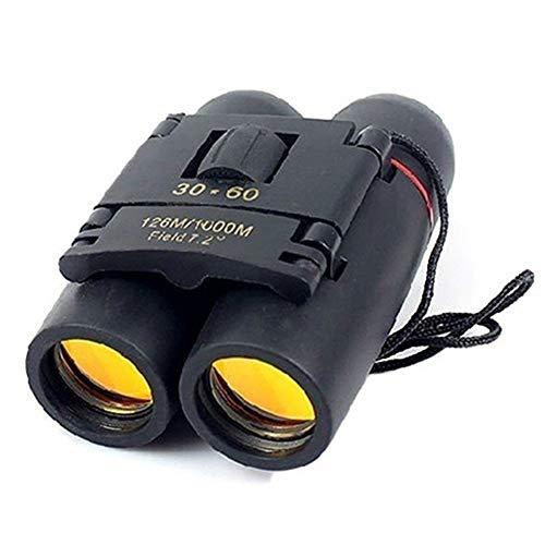 BonTime 30x60 Binoculares pequeños compactos Potente