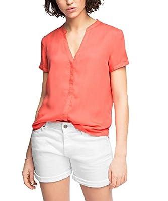 edc by ESPRIT Women's Regular Fit Short Sleeve Blouse