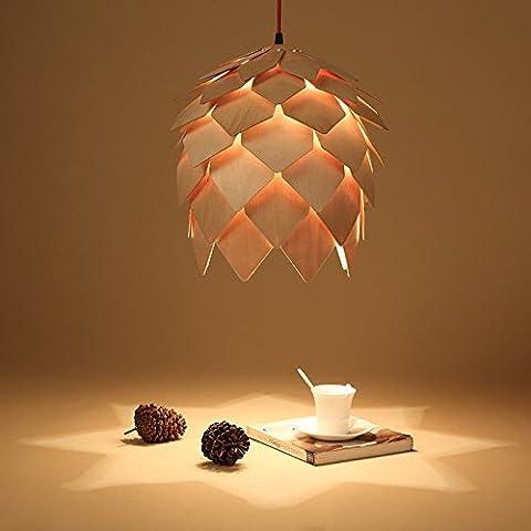 Caribou ceiling fixture/pendant Light ceiling Lamp Ceiling Light pendant Wooden pinecone chandelier