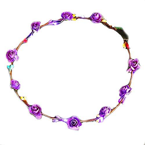 Sunsbell Blumen-LED Haarspange Blume...