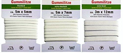 13m-gummiband-gummilitze-3-verschieden-weisse-gummilitzen-gummibander-ca-5m-x-5mm-5m-x-7mm-und-3m-x-