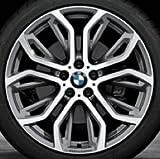 Original BMW Alufelge X5 F15 Performance Y-Speiche 375 in 21 Zoll für vorne