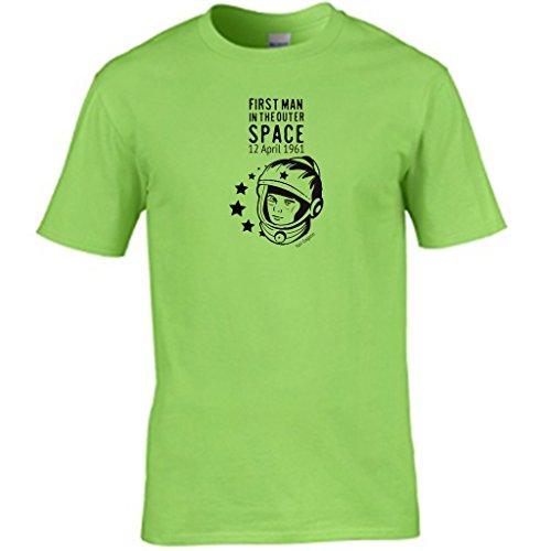 S Tees Herren T-Shirt Lime
