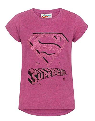 DC Superhero Girls Supergirl Girl's T-Shirt (3-4 Years)