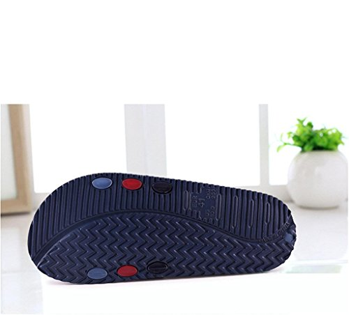 Chaussons de douche EVA salle de bains maison pantoufles sandales souples occasionnels confortable ultralight non glissement cool sandales chaussures pour hommes A