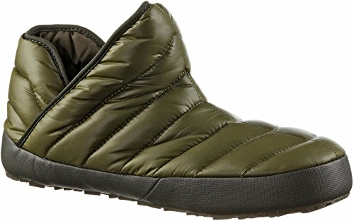 The North Face Traction Bootie chaussons Shiny Burnt Olive
