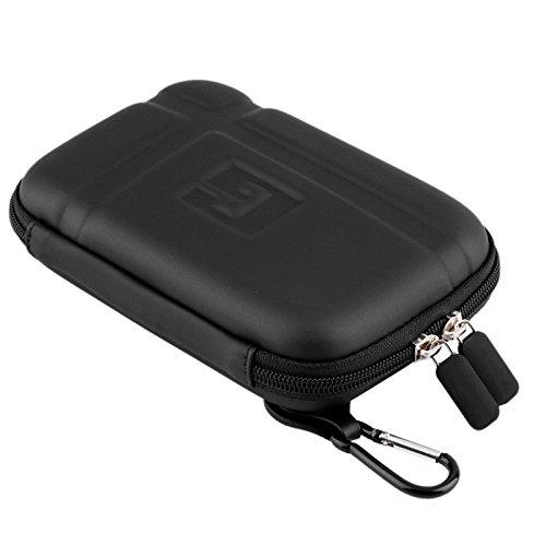 Jieyida Universal Reisen Wasserdicht Harte GPS Tasche Tragetasche Hartschalenetui für 5-Zoll-Navigationsgeräte, schwarz - Lite Dsi Xl