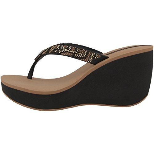 Tongs Ipanema Femme Noir-marron (81936-8397)