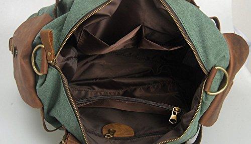 Nuovi uomini uomini borsa retro tela borsa a tracolla uomini e donne borsa a tracolla Messenger borsa scuola borsa 12colori light brown khaki