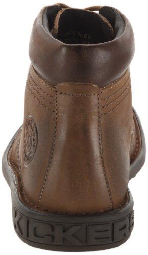 Kickers Koloc, Chaussures à lacets homme Marron Clair