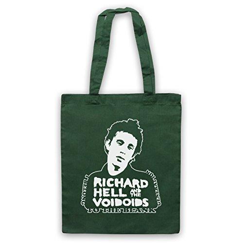 Ispirato Da Richard Non Brillante Generazione Di Bianco Scuro Non Ufficiale Del Capo Borse Verde Scuro