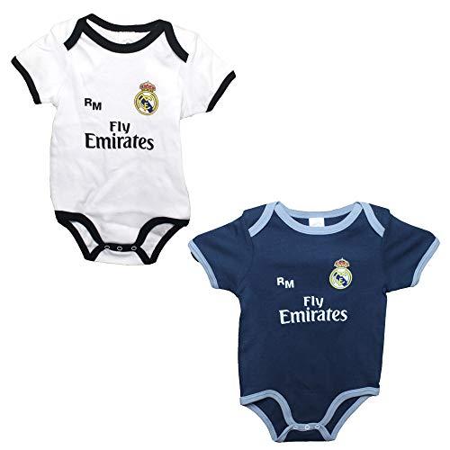Set 2 Body Real Madrid Niños - Producto Oficial - Temporada 2018/2019